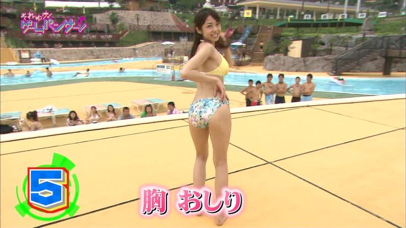 【放送事故画像】テレビでこんなエロいお尻ばっか映されたら勃起が収まらんくなるわww 02
