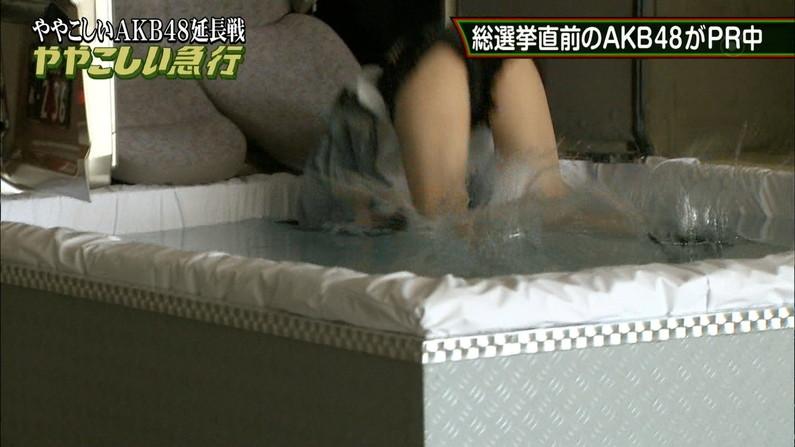 【放送事故画像】付け根の方まで露出さしてる太ももがエロすぎてたまらんwww 18