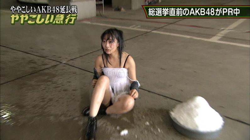 【放送事故画像】付け根の方まで露出さしてる太ももがエロすぎてたまらんwww 22