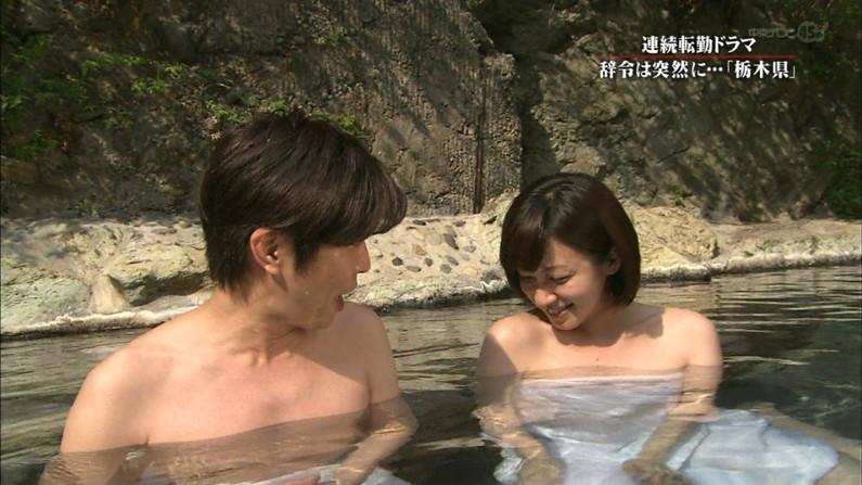 【放送事故画像】女子アナやアイドルがお風呂入ってたら必ずポロリ期待しちゃうよなww 05