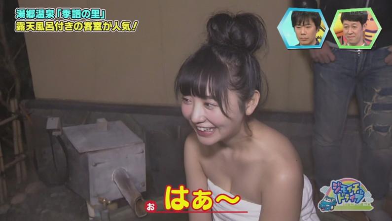 【放送事故画像】女子アナやアイドルがお風呂入ってたら必ずポロリ期待しちゃうよなww 09