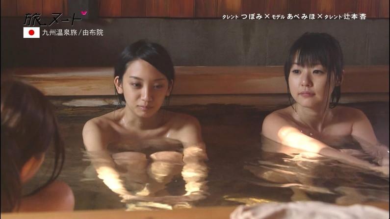 【放送事故画像】女子アナやアイドルがお風呂入ってたら必ずポロリ期待しちゃうよなww 10
