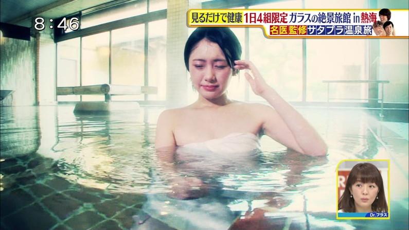 【放送事故画像】女子アナやアイドルがお風呂入ってたら必ずポロリ期待しちゃうよなww 20
