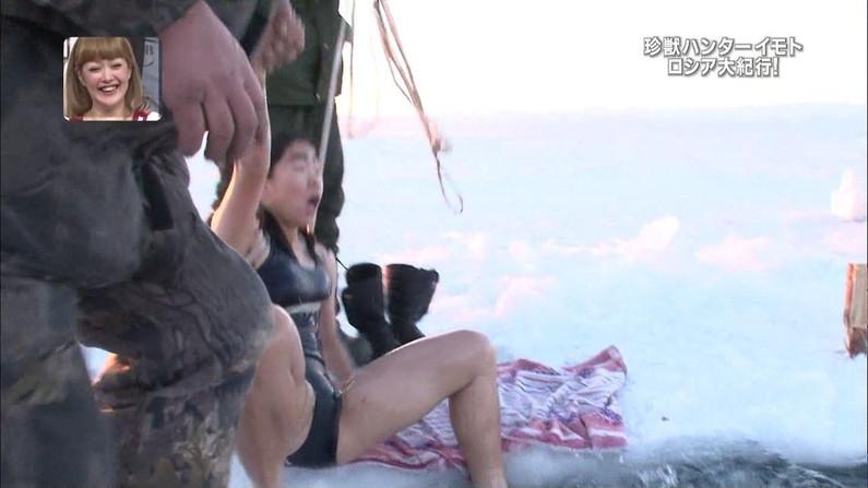 【放送事故画像】テレビでお股広げ過ぎた結果・・・ハミマン、ハミパンww 24