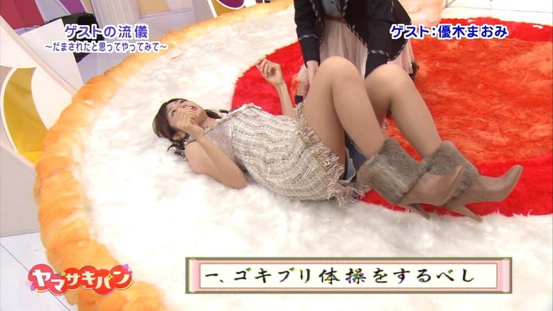 【放送事故画像】細い脚もいいけどやっぱりちょっとムチムチ感ある脚の方がエロいよなw