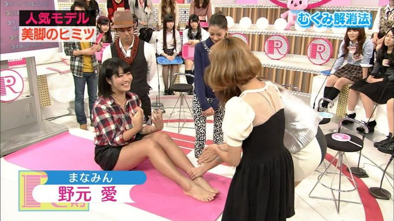 【放送事故画像】細い脚もいいけどやっぱりちょっとムチムチ感ある脚の方がエロいよなw 13