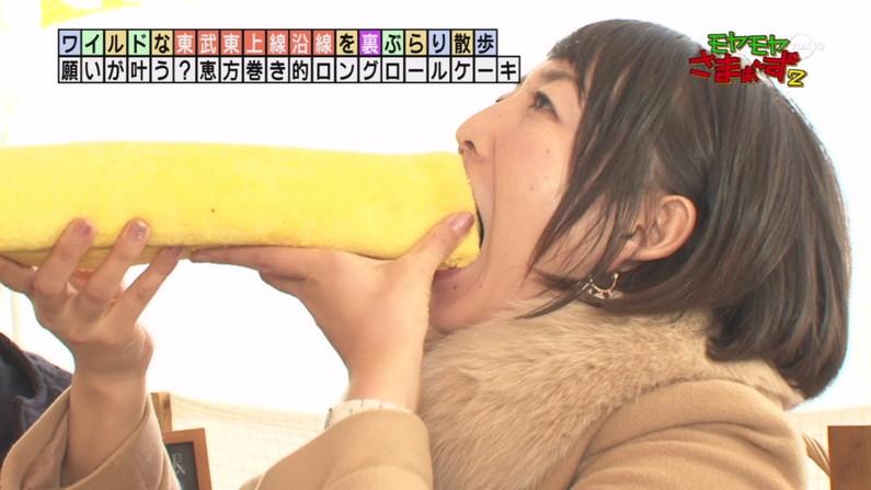 【擬似フェラ画像】ただ物を食べてるだけなのに何故かエロい目で見てしまうんだよなww 13
