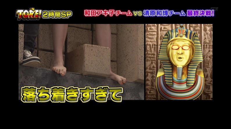 【放送事故画像】臭そうな足の裏だけど、美人だったらちょっと臭ってみたいマニアな画像集www 11
