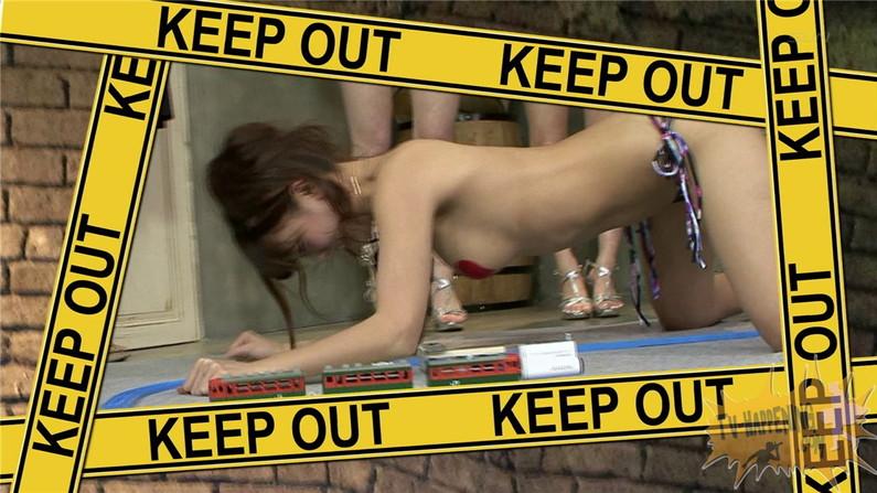 【お宝エロ画像】ケンコバノバコバコTVで「谷間へGO!」とかいう神企画がエロすぎてワロタw
