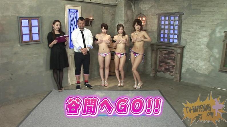 【お宝エロ画像】ケンコバノバコバコTVで「谷間へGO!」とかいう神企画がエロすぎてワロタw 04