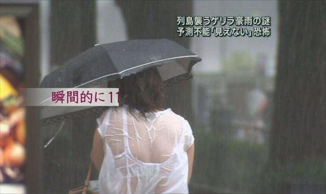 【放送事故画像】男を誘惑する透け透け画像!女子アナの透け透けタマランwww 02