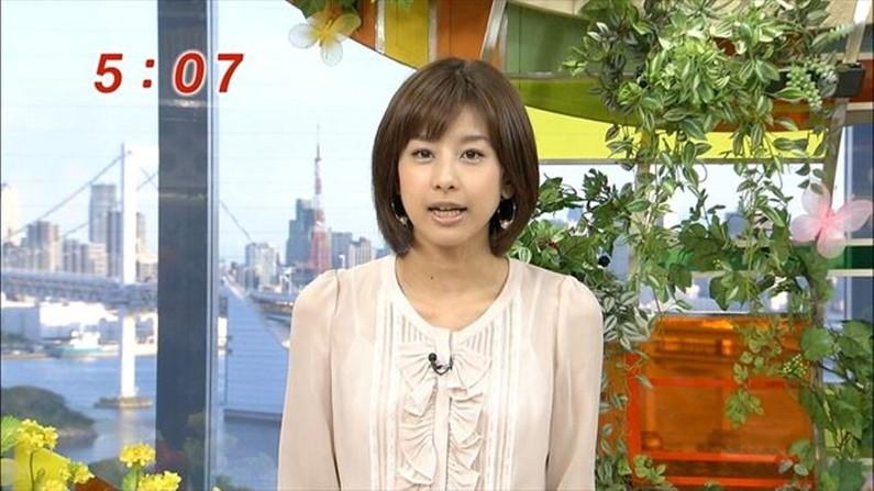 【放送事故画像】男を誘惑する透け透け画像!女子アナの透け透けタマランwww 19