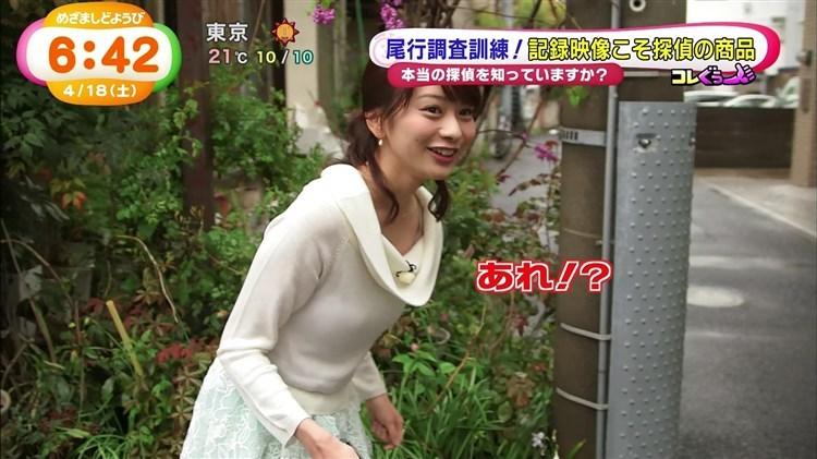 【放送事故画像】男を誘惑する透け透け画像!女子アナの透け透けタマランwww 22