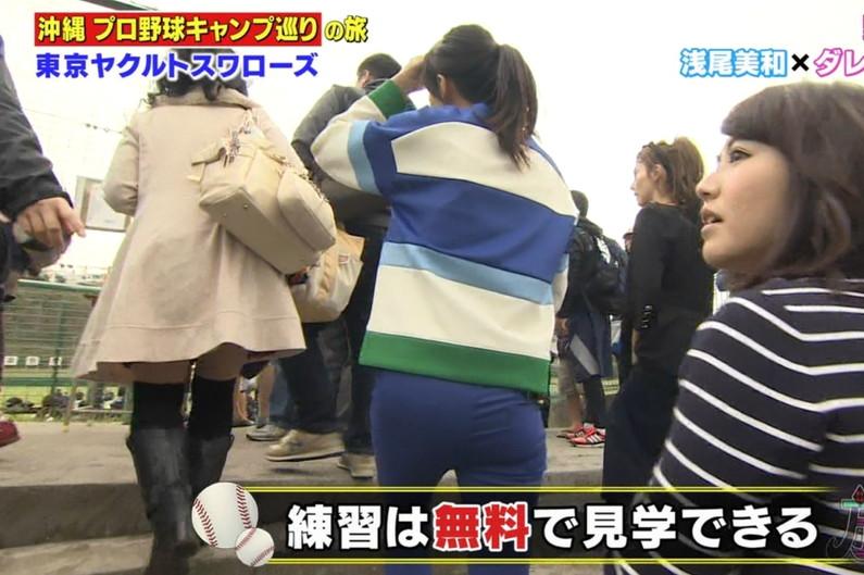 【放送事故画像】女の武器はオッパイだけじゃない!見てくれこのエロい尻をww 08