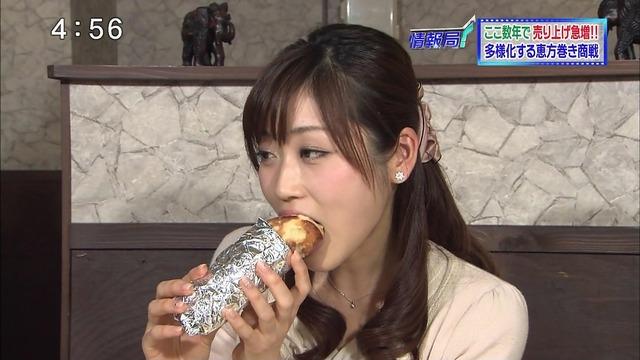 【擬似フェラ画像】何故有名人が物を食べてるだけでこんなにもエロく見えてしまうのか? 09