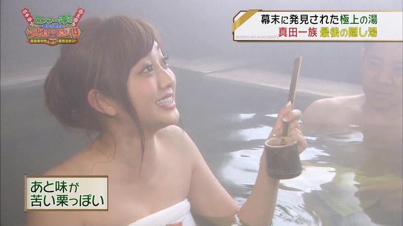 【放送事故画像】巨乳美女達がテレビの前で風呂に入る姿がエロすぎてたまらんww 07