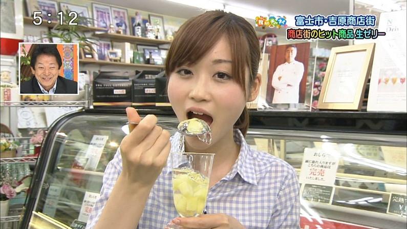 【擬似フェラ画像】食べ物を咥え込んでる女子アナ達の顔が卑猥で思わずオッキしたww 20