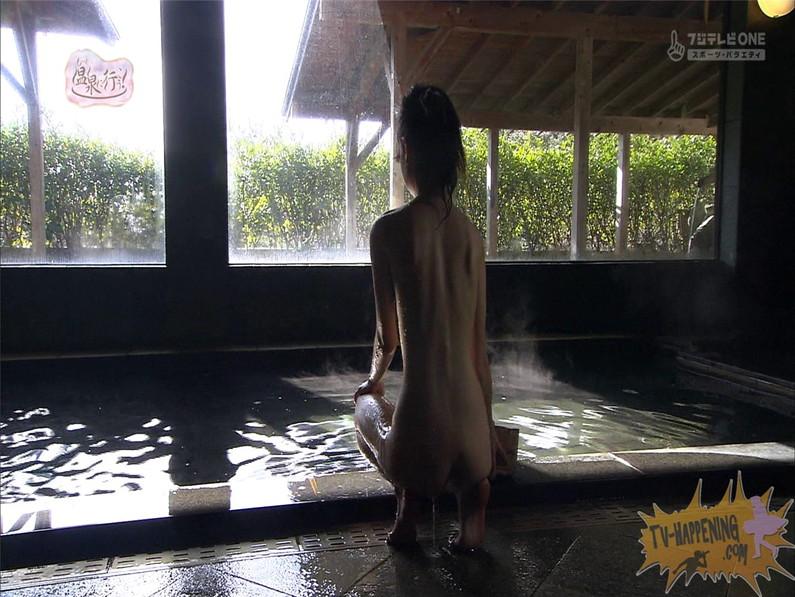 【お宝エロ画像】最近エロいと評判の「もっと温泉に行こう!」バスタオルなしで女の全裸入浴見放題ww 19