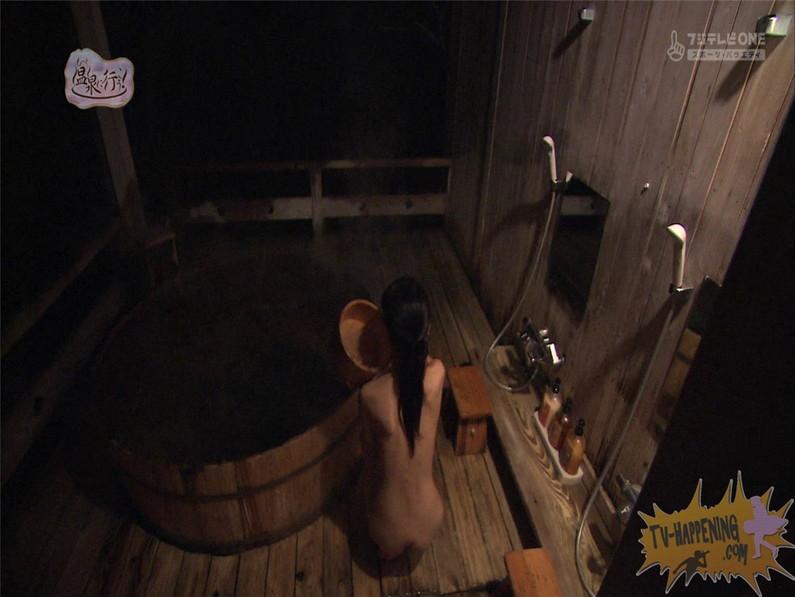 【お宝エロ画像】最近エロいと評判の「もっと温泉に行こう!」バスタオルなしで女の全裸入浴見放題ww 28