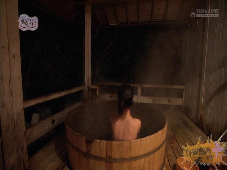 【お宝エロ画像】最近エロいと評判の「もっと温泉に行こう!」バスタオルなしで女の全裸入浴見放題ww 31