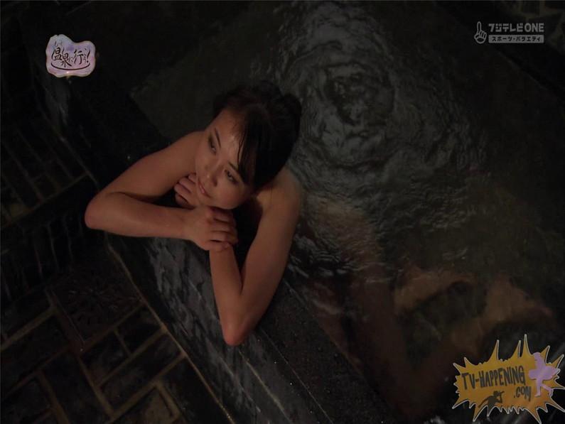 【お宝エロ画像】最近エロいと評判の「もっと温泉に行こう!」バスタオルなしで女の全裸入浴見放題ww 59