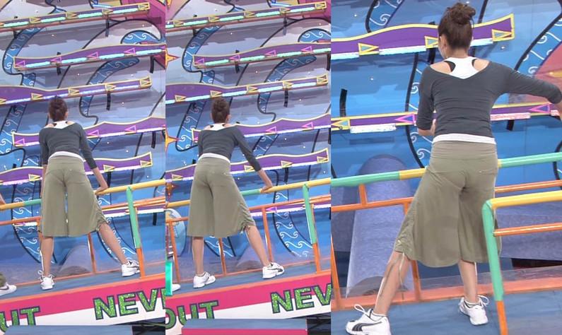 【放送事故画像】女子アナ達がぴったりしたズボン履きすぎてパン線浮きまくりwww 20
