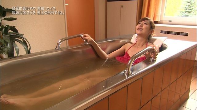 【放送事故画像】ポロリの期待値がグンっと高まる温泉レポw今回はポロリはあるのか?ww 10