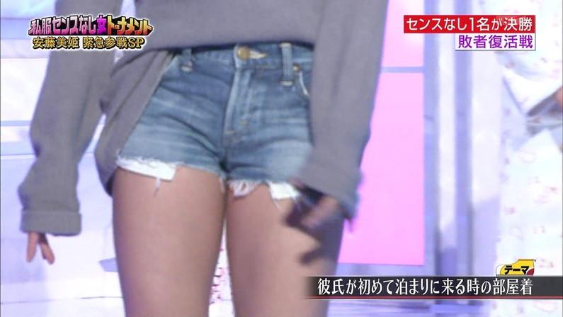 【放送事故画像】アイドルや女子アナの太ももが付け根の方まで見えてたまらんごwww 02