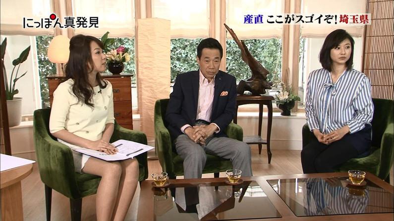 【放送事故画像】アイドルや女子アナの太ももが付け根の方まで見えてたまらんごwww 15