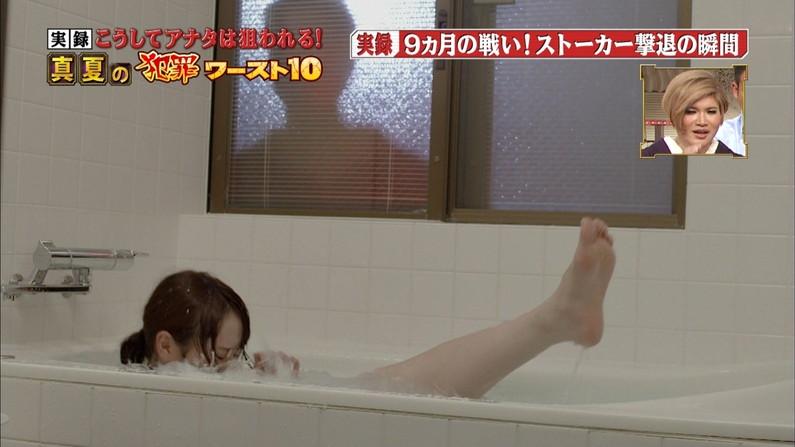 【放送事故画像】普段あまり見ることのできない女性タレントの足裏!臭そうだけど何か興奮するw 08