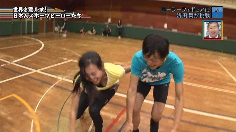 【放送事故画像】テレビに映る巨乳ちゃん達が前屈みになった結果www 04