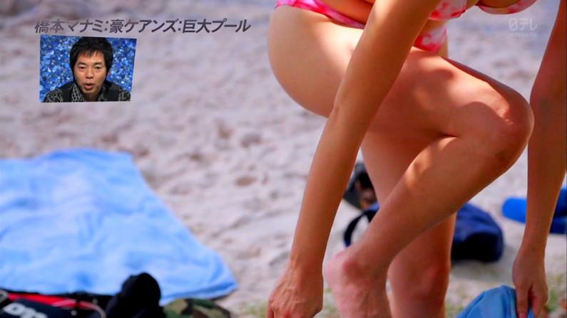 【放送事故画像】ミニスカやショートパンツ履いて太もも露出しながらテレビに出た結果ww 06