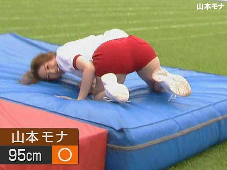 【放送事故画像】女子アナのピタパンお尻を見てたら勃起が収まらなくなってどぉしようもない件w 03
