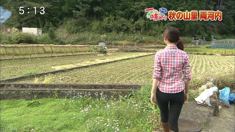 【放送事故画像】女子アナのピタパンお尻を見てたら勃起が収まらなくなってどぉしようもない件w 16