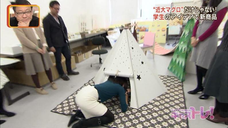 【放送事故画像】女子アナのピタパンお尻を見てたら勃起が収まらなくなってどぉしようもない件w 23