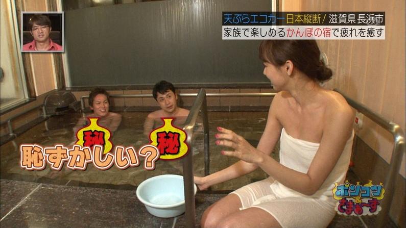【放送事故画像】女性の入浴シーン見てるとつい股間がもっこりしてくるのは俺だけ?w 23