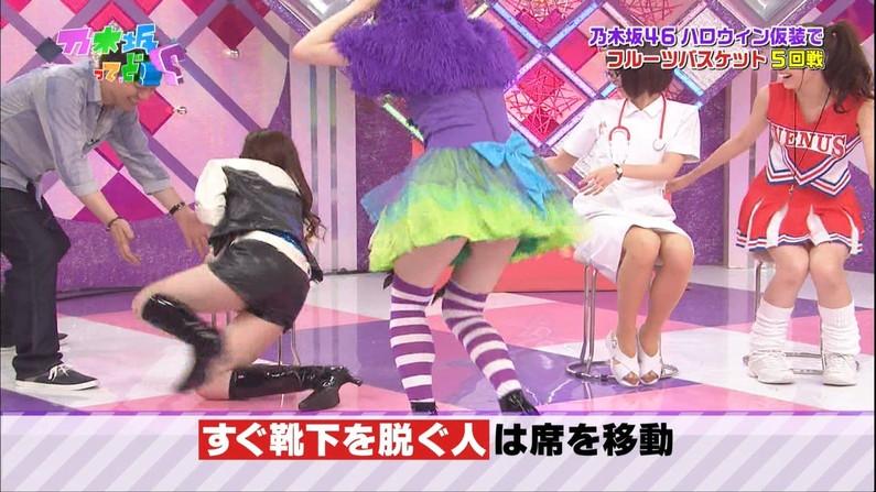 【放送事故画像】この脚見てたらオナニーしたくなっても仕方のないタレント達のエロい太もも!