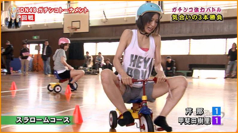 【放送事故画像】この脚見てたらオナニーしたくなっても仕方のないタレント達のエロい太もも! 05