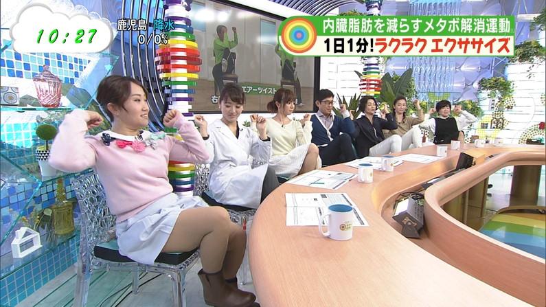 【放送事故画像】テレビに出てる女の子の脚ってなんでこんなにきれいでエロいんだ?w 18