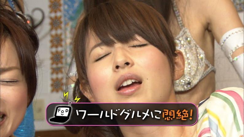【放送事故画像】女子アナやアイドルが絶頂江尾迎えるとこうなるらしいwww 11