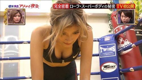 【放送事故画像】ローラ、シースルーから乳首が透けるハプニング!それでもOKwww(2016/4/5!画像大量追加!) 21