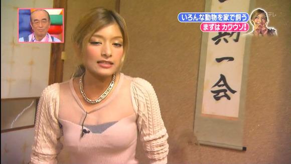 【放送事故画像】ローラ、シースルーから乳首が透けるハプニング!それでもOKwww(2016/4/5!画像大量追加!) 30