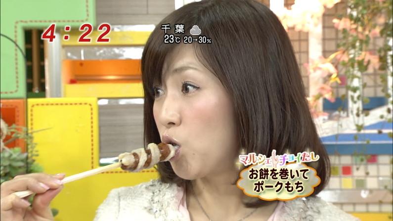 【擬似フェラ画像】性欲強そうな女達が食レポするとこんな顔になるらしいww 22