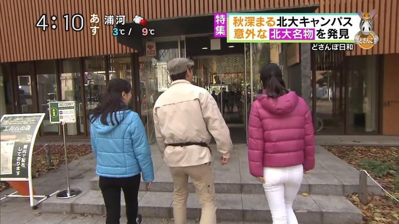 【放送事故画像】エロいケツした女がカメラにケツ向けるもんだから思わず股間が反応したww 14