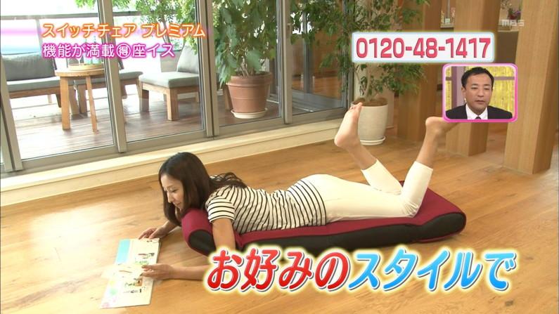 【テレビキャプ画像】普段ほぼほぼ見る事の無い女性タレントの足の裏に興奮してしまったww