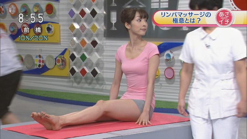 【テレビキャプ画像】普段ほぼほぼ見る事の無い女性タレントの足の裏に興奮してしまったww 23