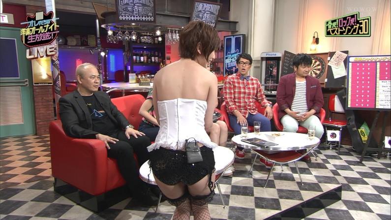 【お尻キャプ画像】テレビなのにハミケツ晒し過ぎてこりゃもぉやばすぎるww 14
