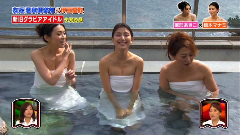 【入浴キャプ画像】温泉レポとかっていつもオッパイギリギリのところまで露出してないか? 02