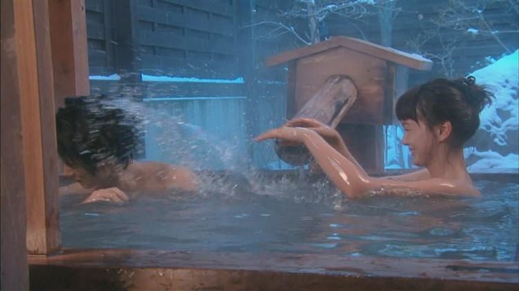 【入浴キャプ画像】温泉レポとかっていつもオッパイギリギリのところまで露出してないか? 23