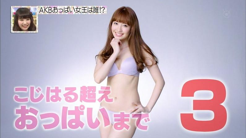 【芸能お宝画像】AKBの中でも美乳ランキング1位2位を争う小嶋陽菜!エロいのはオッパイだけじゃなかったw 11